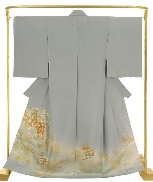 正絹手描色留袖 吉野天人 結婚式 卒業式 フォーマル 和装 着物
