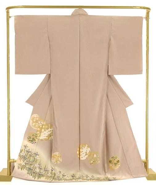 金彩友禅色留袖 八橋に琳派絵文 結婚式 卒業式 フォーマル 和装 着物