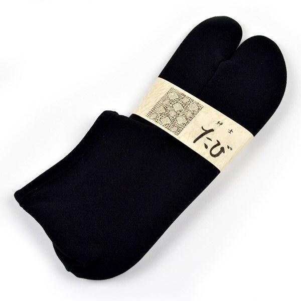 Japanese Traditional TABI Socks Kimono Yukata Stretch Type Black from JAPAN