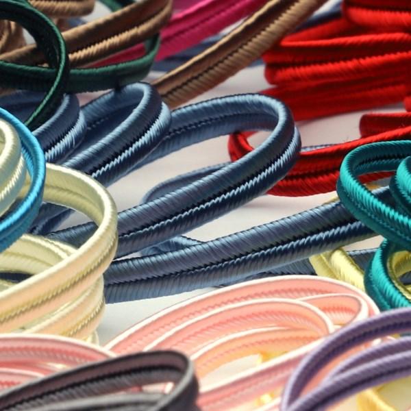 ライン装飾やソウタシエコードにオススメのトリミングブレード SIC 期間限定送料無料 レーヨン蛇腹 約2.5mm 1メートル 手芸 服飾 SHINDO 特売