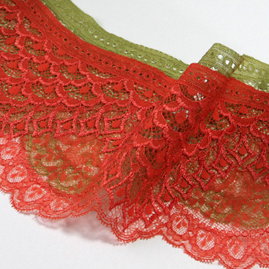 SIC リバートリミングレース 約135mm 15メートル巻 服飾 手芸 SHINDO