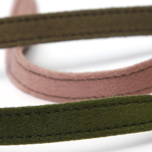 木馬社製ステッチスエードテープ 2216 木馬 ステッチスエードテープ 約8mm 服飾 超定番 手芸 10メートル巻 MOKUBA マート