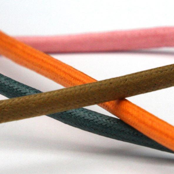 木馬 丸紐ワックスコード 約4.5mm 50メートル巻 服飾 手芸 MOKUBA