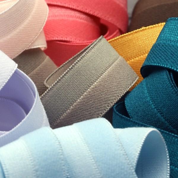 SIC 薄手サテン&パイルストレッチバインダー 9x9mm 20メートル巻 服飾 手芸 SHINDO