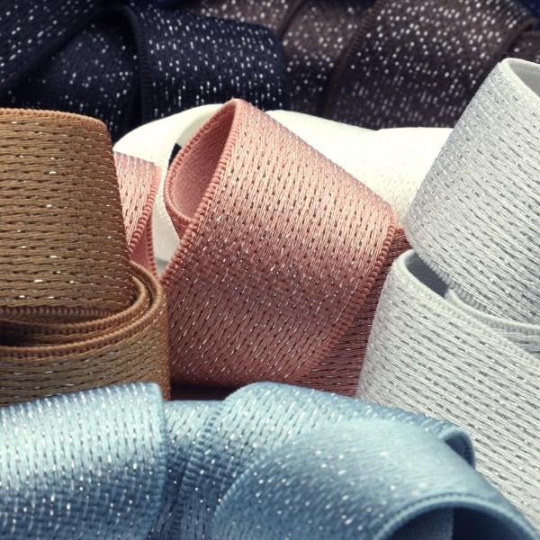 SIC ラメウエストストレッチテープ 50mm 20メートル巻 服飾 手芸 SHINDO
