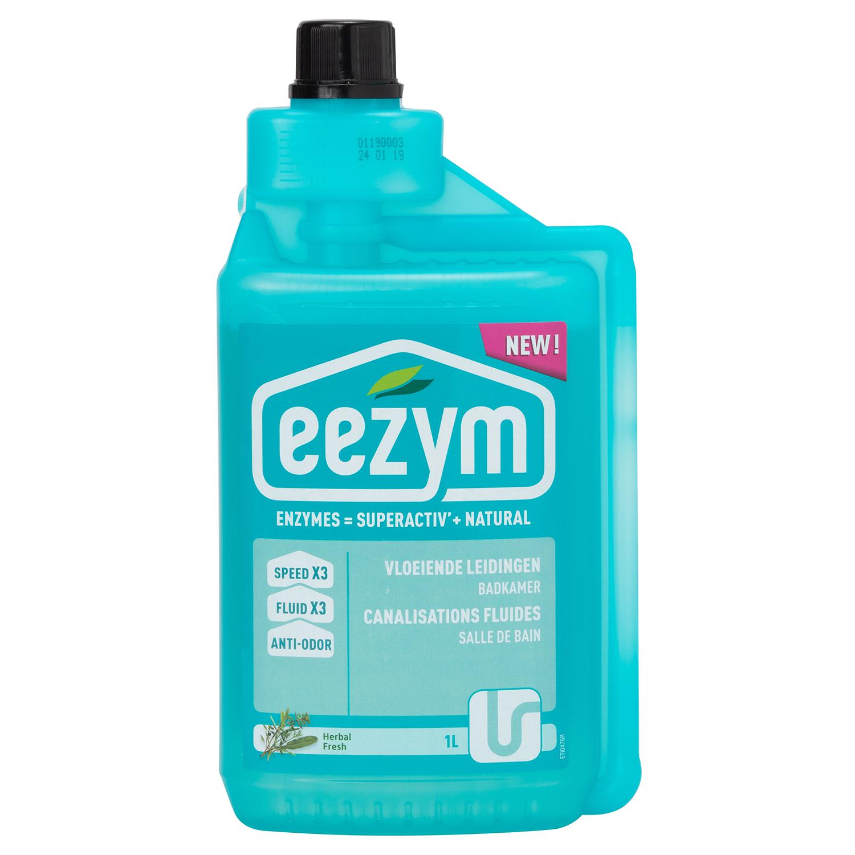 高速酵素分解で生分解を促進 格安 eezym イージム パイプクリーナー 洗面 浴室用ハーバル1L お得なキャンペーンを実施中 ナチュラル酵素洗剤 保存料フリー■おすすめ 全成分植物由来