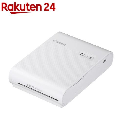 キヤノン コンパクトフォトプリンター SELPHY スクエア QX10 ホワイト(1台)