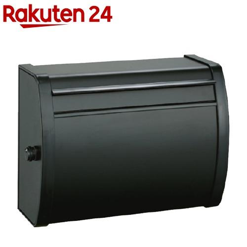 メイワ 大型ダイヤル錠付カラーポスト MK-82 ブラック(1コ入)【送料無料】