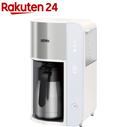 サーモス THERMOS 真空断熱ポットコーヒーメーカー 送料無料お手入れ要らず ECK-1000 1個 ホワイト クリアランスsale 期間限定 WH