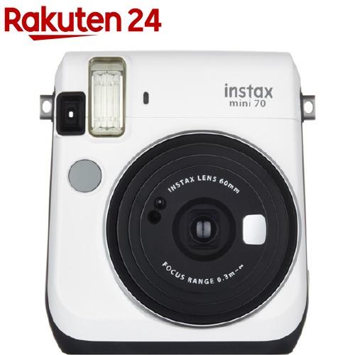 富士フイルム チェキ instax mini 70N ホワイト(1台)【フジフイルム】
