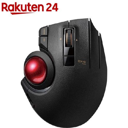 マーケティング エレコム ELECOM マウス トラックボール 親指操作 2020新作 ブラック PRO EX-G M-XPT1MRXBK 1個