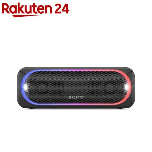 ソニー ワイヤレスポータブルスピーカー ブラック SRS-XB30(1台)【SONY(ソニー)】