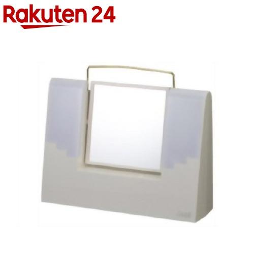 TANICA 照明付きメイクミラー アリスミラー ホワイト AM-12WH(1コ入)【タニカ】