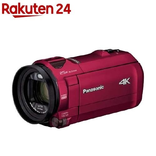 パナソニック デジタル4Kビデオカメラ HC-VX992M-R アーバンレッド(1台)【パナソニック】