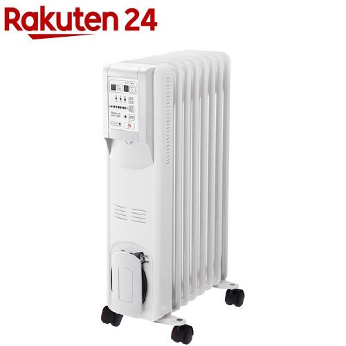 【企画品】マイコン式 オイルヒーター ひだまり リモコン付 ホワイト(1台)