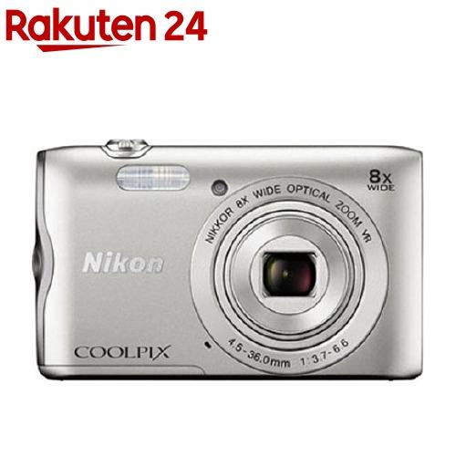 ニコンデジタルカメラ クールピクス A300 シルバー(1台)【クールピクス(COOLPIX)】