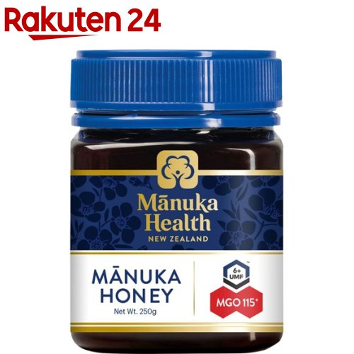 マヌカヘルス マヌカハニーMGO115 日本限定 UMF6 正規品 人気の定番 250g