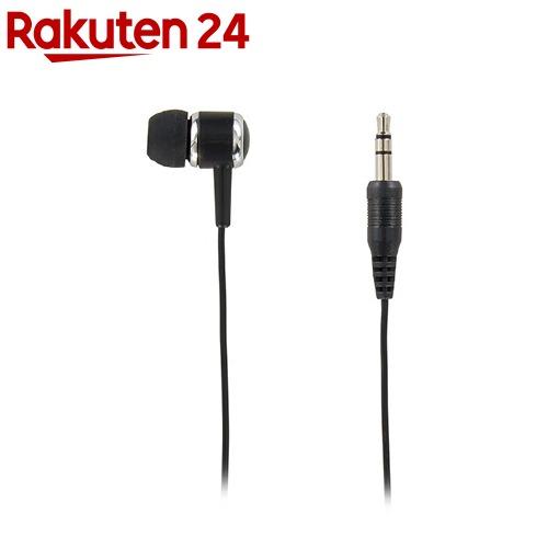 正規品 カナル型片耳イヤホン 1Mステレオプラグ ブラック 1コ入 毎週更新 TMS1061BK