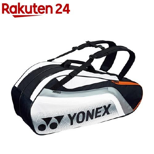 ヨネックス ラケットバック6 リュック付 テニス6本用 ブラック*ホワイト BAG1812R 245(1コ入)【ヨネックス】