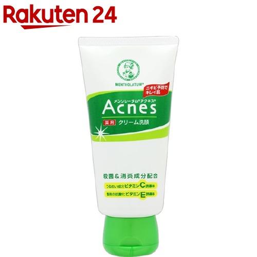 春の新作 アクネス メンソレータム 薬用クリーム洗顔 130g オーバーのアイテム取扱☆