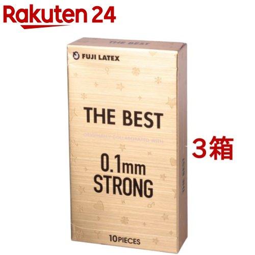 コンドーム/ザ・ベスト 0.1mmストロング(10個入*3箱セット)[避妊具]