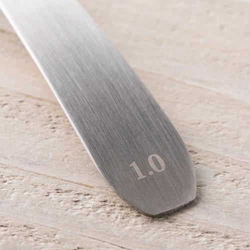 セレクト100 オーバル型計量スプーン 1mL DH3134(1コ入)【セレクト100】