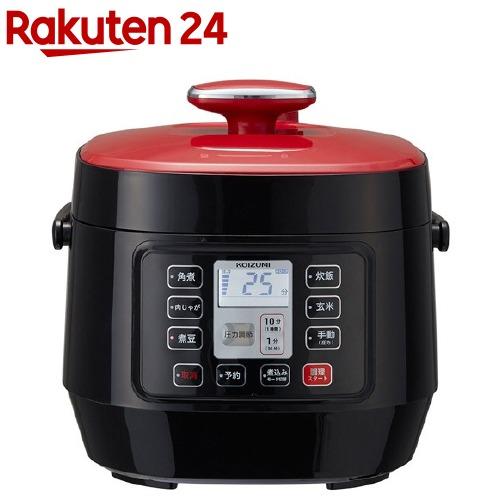 コイズミ マイコン電気圧力鍋 レッド KSC-3501/R(1台)【コイズミ】