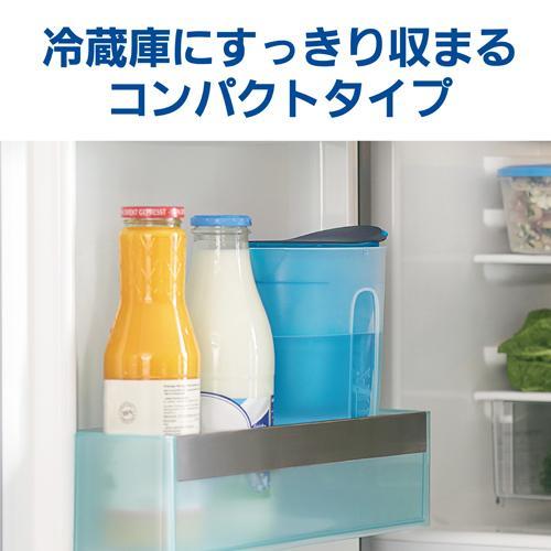 ブリタ ファン ブルー マクストラプラスカートリッジ1個付き(日本仕様・日本正規品)(1セット)【ブリタ(BRITA)】