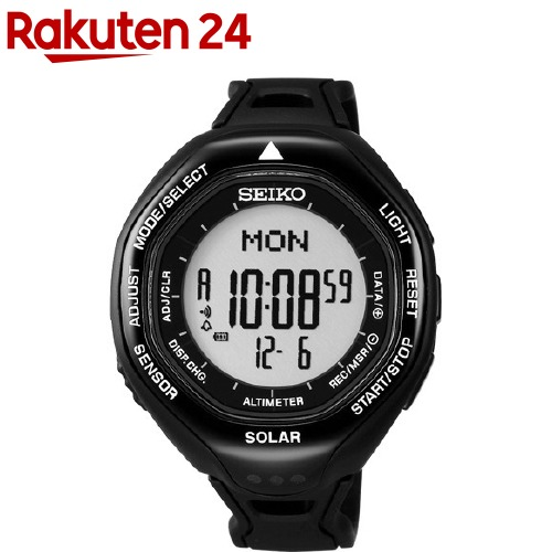 セイコー プロスペックス アルピニスト ソーラー時計 ブラック SBEB001(1コ入)【セイコー】