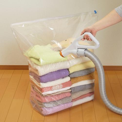 ムシューダ 圧縮パック 衣類用 (圧縮袋1枚、脱酸素剤1個)(1枚入)【ムシューダ】