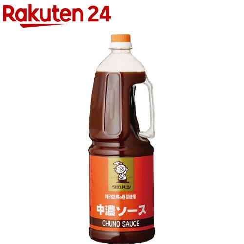 タカハシソース セール特価品 保証 特別栽培の野菜使用中濃ソース 1.8L