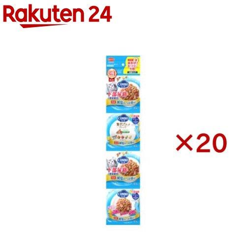 コンボ 連パック 猫下部尿路の健康維持 減塩かつお節添え(35g*4袋入*20コセット)【コンボ(COMBO)】