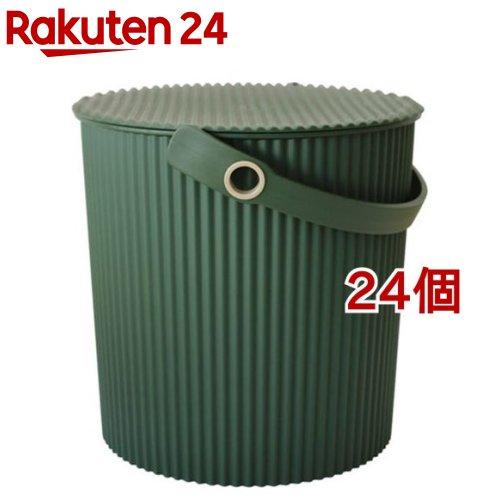ガーデンツールバケット 10L グリーン(24個セット)