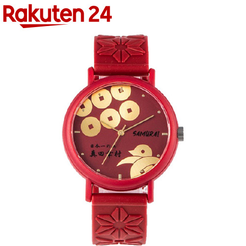 KAORU 配送員設置送料無料 秀逸 腕時計 ご当地戦国武将 KAORU002BT 椿 1個