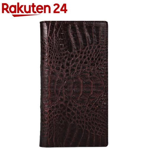 ハンスマレ HTC U11 クロコダブルフリップケース ブラウン HAN12340(1コ入)
