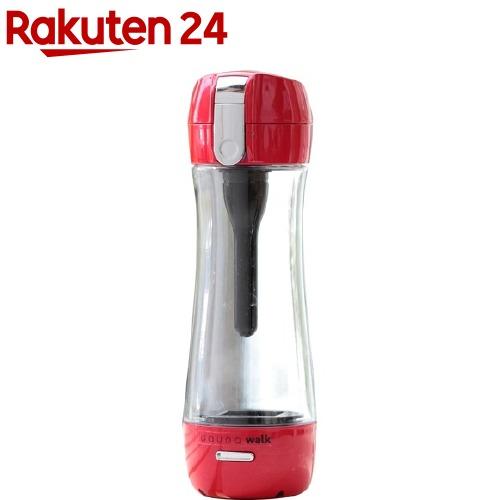 ガウラ ポータブル充電式水素水ボトル レッド(1コ入)【ガウラ】【送料無料】