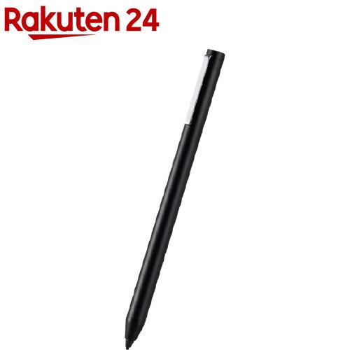 エレコム ELECOM アクティブスタイラスペン タッチペン 在庫一掃売り切りセール 付与 極細 1本 ブラック P-TPACST02BK 1.5mm 充電式