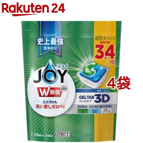 ジョイ ジェルタブ 食洗機用洗剤(54個入*4袋セット)