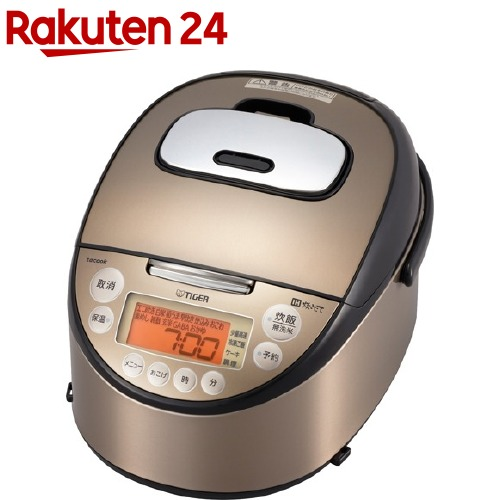 タイガー IH炊飯ジャー 炊きたて tacook 1升 パールブラウン JKT-J182 TP(1台)【タイガー(TIGER)】[炊飯器]