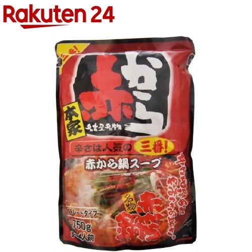 【送料無料】 5番 ストレート ※北海道・沖縄は別途送料が必要。 750g×10袋入 イチビキ 赤から鍋スープ