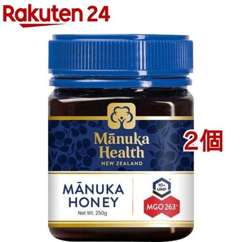 マヌカヘルス マヌカハニー MGO263+/UMF10+ (正規品 ニュージーランド産)(250g*2個セット)【マヌカヘルス】