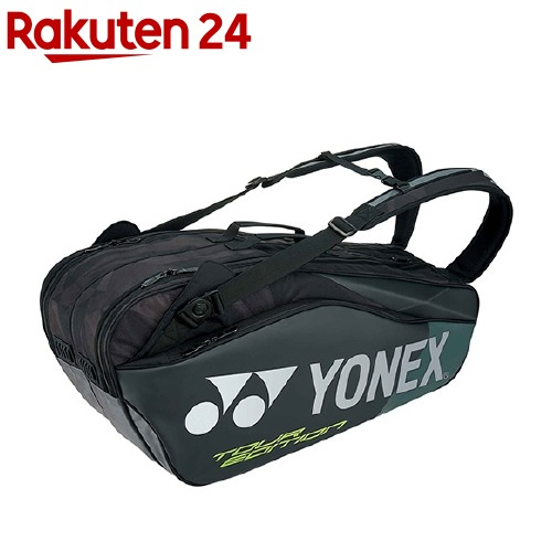 ヨネックス ラケットバッグ6 リュック付 テニス6本用 ブラック BAG1802R 007(1コ入)【ヨネックス】【送料無料】