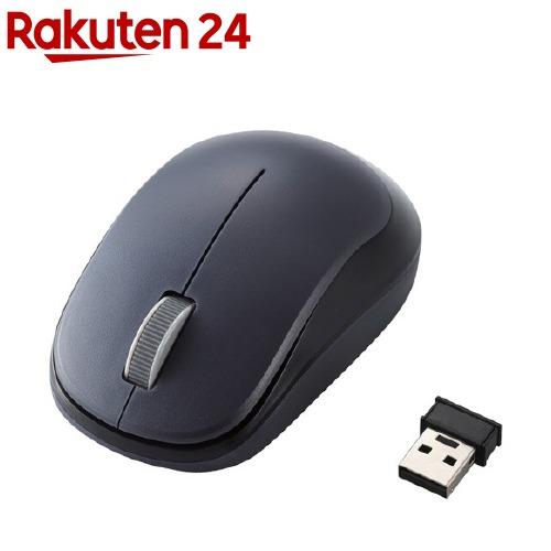 エレコム ELECOM ワイヤレスマウス 3ボタン BlueLED 超人気 M-DY12DBBK 2.4GHz 無線 人気の定番 1個 ブラック