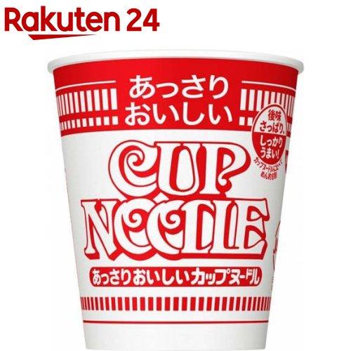 日本 カップヌードル 日清 あっさりおいしいカップヌードル 57g 開店祝い 20食入
