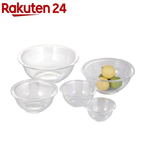 イワキ iwaki 日本正規代理店品 高品質 ボウル5点セット PSC-BO-40N 1セット