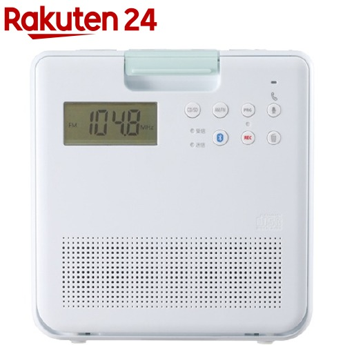 東芝 爆安プライス TOSHIBA コンパクト防水SD CDラジオ TY-CB100 W 1台 メーカー再生品