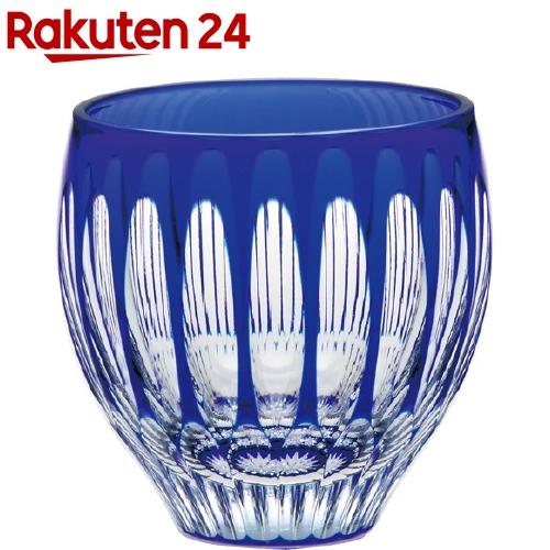 杯 八千代切子 水鞠 ブルー(1コ入)