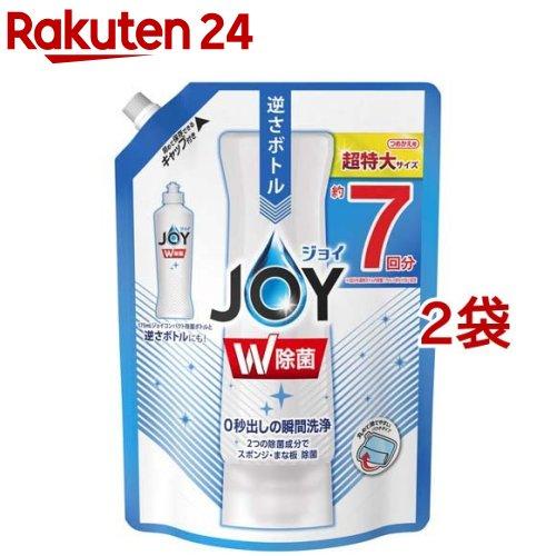 除菌ジョイ コンパクト 食器用洗剤 詰め替え 超特大(960ml*2袋セット)