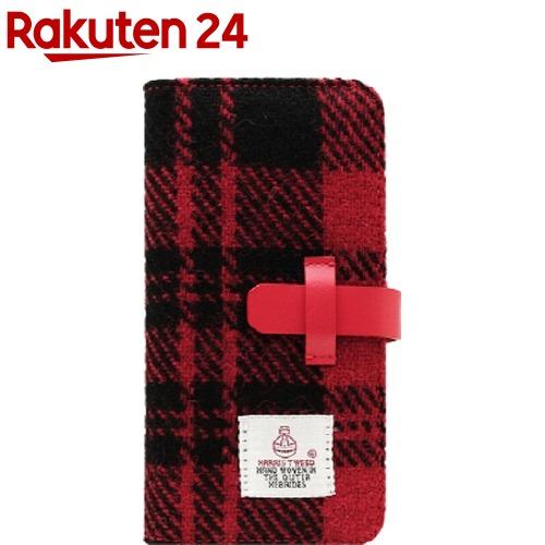 エスエルジーデザイン iPhone X ハリスツイード レッド*ブラック SD10557i8(1コ入)【SLG Design(エスエルジーデザイン)】