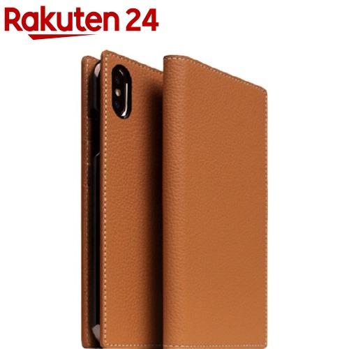 フルグレインレザーケース SD13657i58(1個)【SLG Design(エスエルジーデザイン)】 iPhone キャラメルクリーム XS/X SLG
